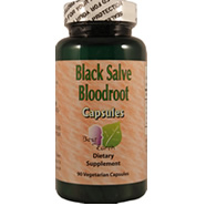Black Salve Bloodroot Capsules